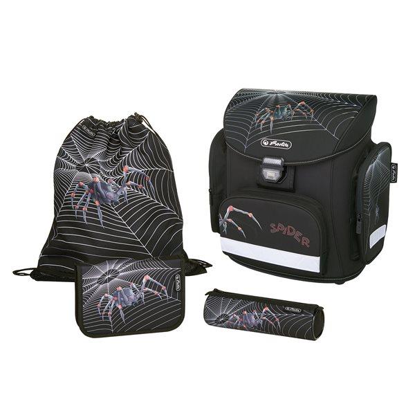 Školní batoh Herlitz Midi - Pavouk - vybavený, Doprava zdarma