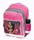 Školní batoh 3 komorový  - Briliantina