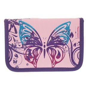 Školní penál Belmil - Butterfly Shining