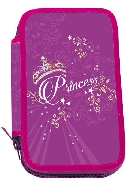 Školní penál třípatrový Princess