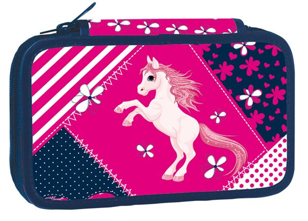 Školní penál dvoupatrový - Pony