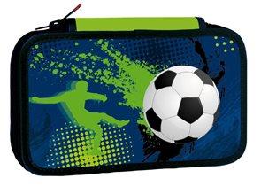 Školní penál dvoupatrový Football 3
