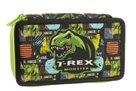 Školní penál dvoupatrový Stil - T-rex