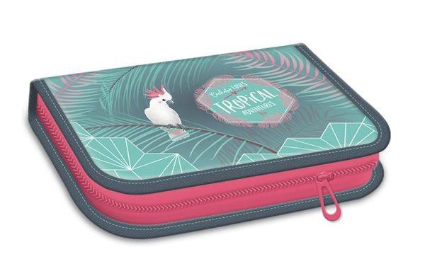 Školní penál plný Ars Una Pink Flamingo