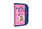 Školní penál 1 patrový plný - Happy Cats