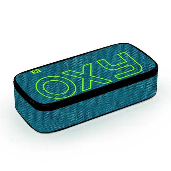 Pouzdro etue komfort OXY STYLE - Blue / Green