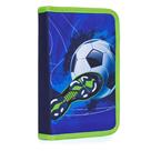 Penál 1patrový s chlopní naplněný - Fotbal