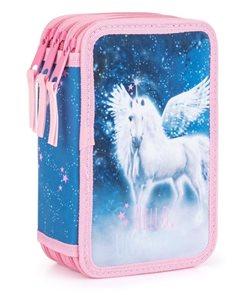 Penál 3patrový prázdný OXY - Hello unicorns