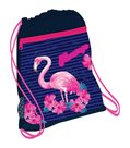 Sáček na cvičky Belmil - Flamingo