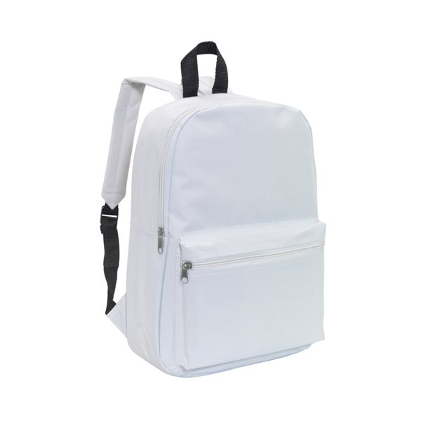 Batoh pro volný čas - bílý