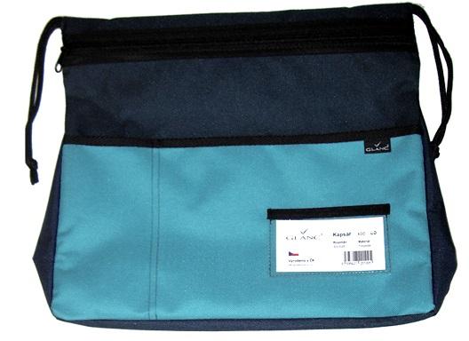 Kapsář na lavici GLANC - světle modrý