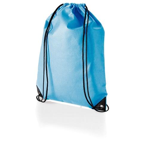 Sportovní vak na záda - světle modrý