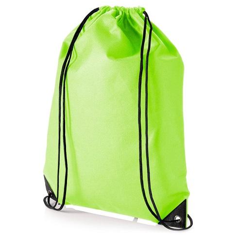 Sportovní vak na záda - světle zelený