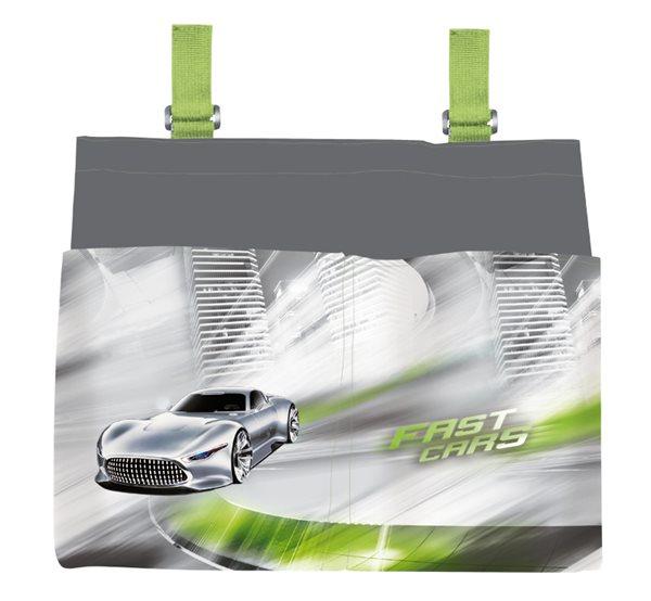 Kapsář na lavici - Fast Cars
