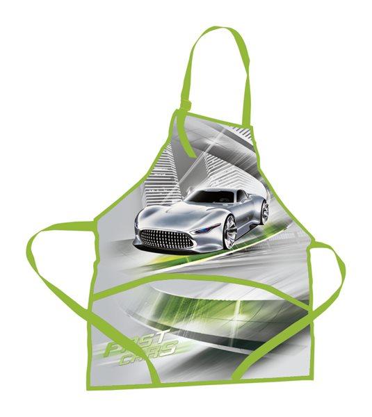 Zástěrka na výtvarnou výchovu - Fast Cars