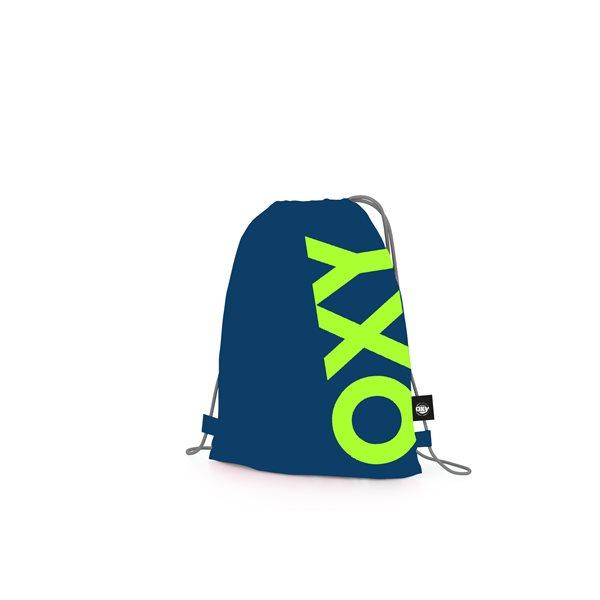 Sáček na cvičky OXY - Neon Dark Blue