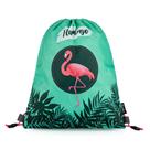 Sáček na cvičky - Flamingo