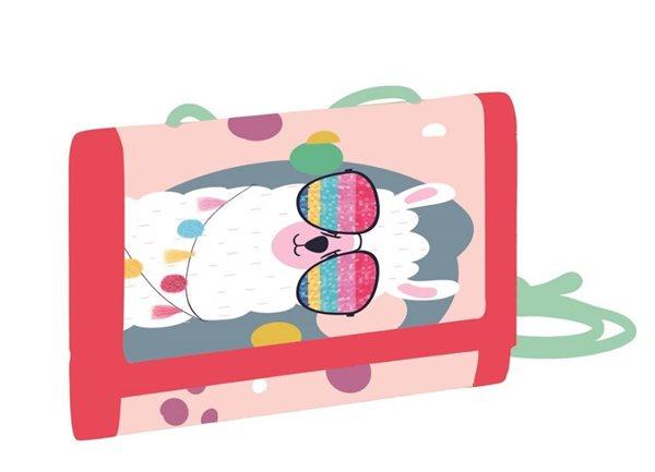 Dětská peněženka OXY - Lama 2021