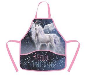 Zástěra do výtvarné výchovy OXY - Hello unicorns