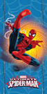 Dětská osuška - Spiderman blue