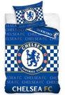 Povlečení FC Chelsea - šachovnice, modré