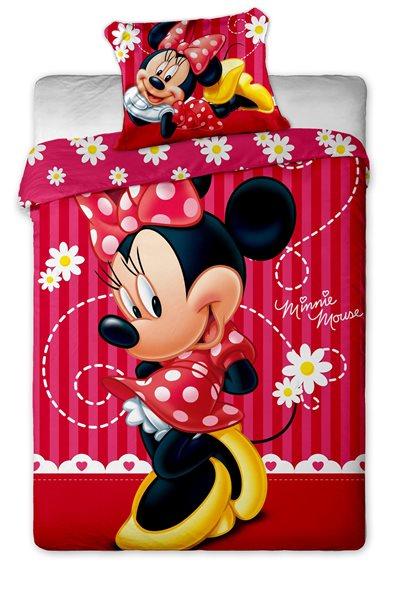 Dětské povlečení - Minnie stripe