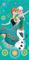 Dětská osuška - Ledové království green
