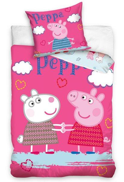 Dětské povlečení - Prasátko Pepa a Suzy