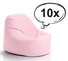 SakyPaky Sada 10 sedacích vaků Klííídek