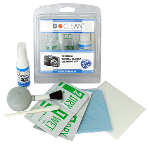 D-Clean Premium Digital Camera Cleaning Set