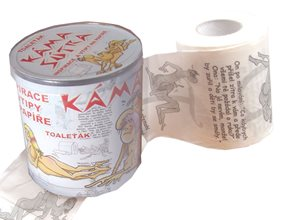 Toaletní papír-Kamasutra