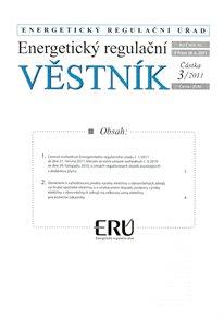 Energetický regulační věstník 003/2011