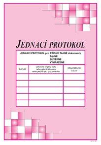 Jednací protokol podle vyhlášky č. 275/ 2015 Sb.