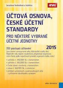 Účtová osnova, České účetní standardy pro některé vybrané účetní jednotky 2015 – 353 postupů účtován