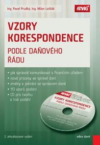 Vzory korespondence podle daňového řádu 2015 + CD