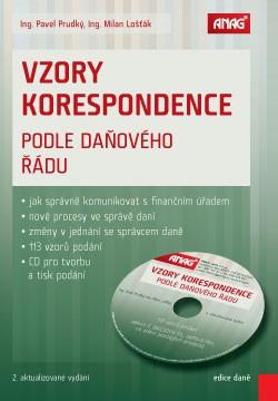 Vzory korespondence podle daňového řádu 2015 + CD - Pavel Prudký, Milan Lošťák