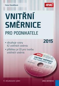 Vnitřní směrnice pro podnikatele 2015 + CD