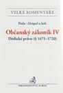 Občanský zákoník IV. Dědické právo