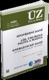 ÚZ 1095 / Spotřební daně, líh, paliva a maziva, energetické daně - 14x21 cm