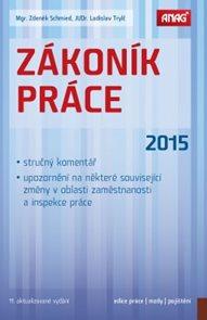 Zákoník práce 2015 (sešitové vydání)