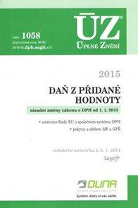 ÚZ 1058 / Daň z přidané hodnoty 2015