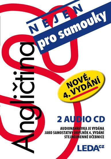 Angličtina (nejen) pro samouky - 2 audio CD - Ludmila Kollmannová - 13x14 cm