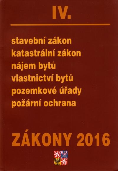 Zákony IV/2016 - 15x21 cm