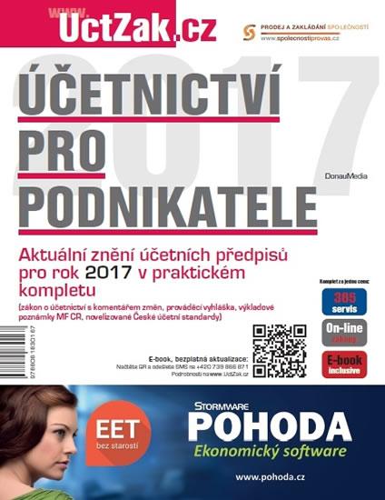Účetnictví pro podnikatele 2017 - neuveden - 23x30 cm