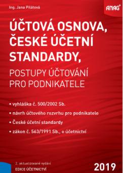 Účtová osnova, České účetní standardy - Ing. Jana Pilátová
