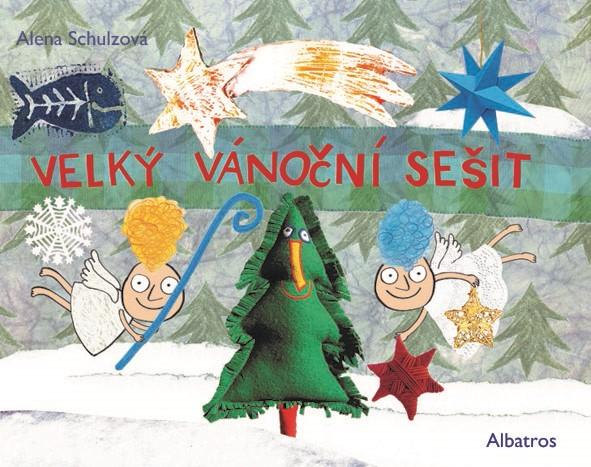 Velký vánoční sešit - Alena Schulz - 32x24 cm