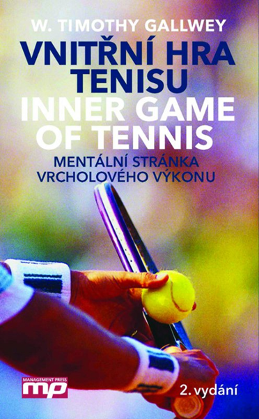 Vnitřní hra tenisu - W. Timothy Gallwey - 13x21 cm