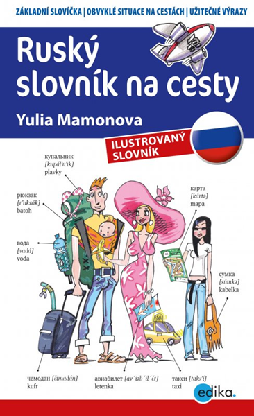 Edika Ruský slovník na cesty - Yulia Mamonova - 11x18 cm