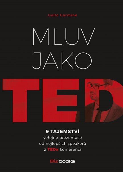 Mluv jako TED - Carmine Gallo - 15x21 cm