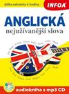 Anglická nejužívanější slova Audiokniha s mp3 CD
